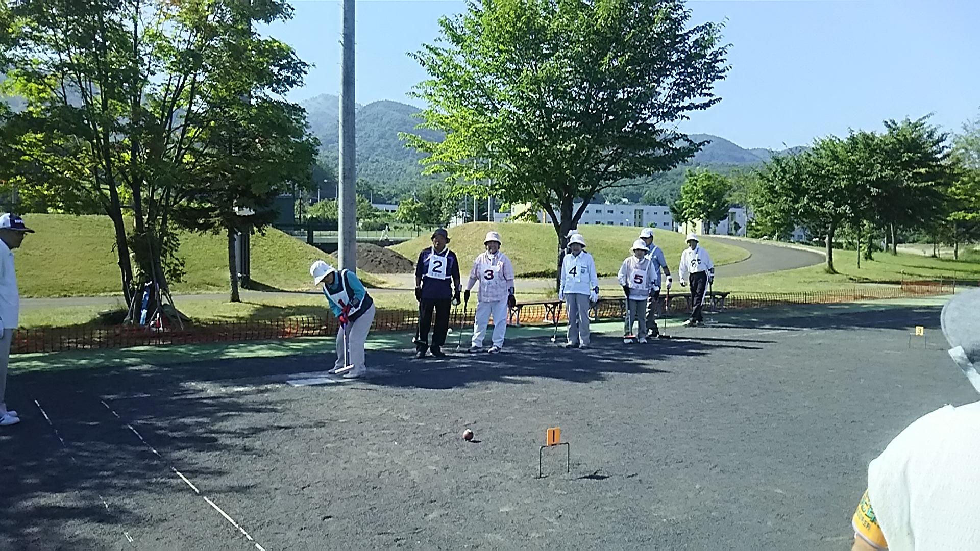 第16回蘭越町営温泉湯の旅ゲートボール大会成績
